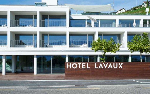 Hotel Lavaux вид на фасад