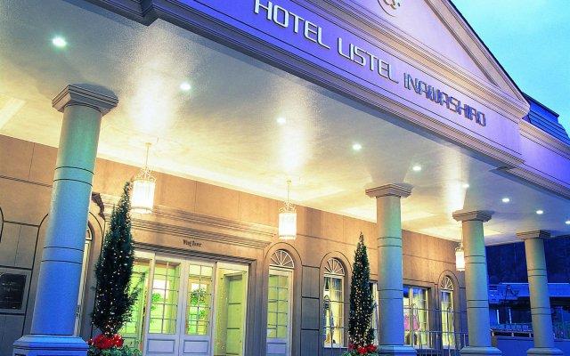 Отель Listel Inawashiro Wing Tower Япония, Айдзувакамацу - отзывы, цены и фото номеров - забронировать отель Listel Inawashiro Wing Tower онлайн вид на фасад