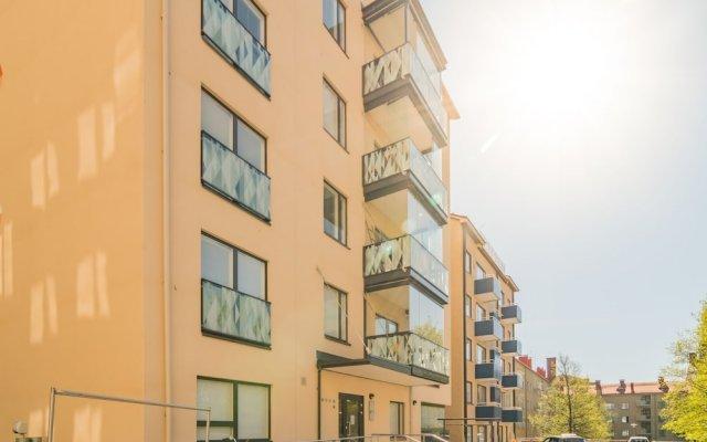 Апартаменты Local Nordic Apartments - Snowy Owl Ювяскюля вид на фасад