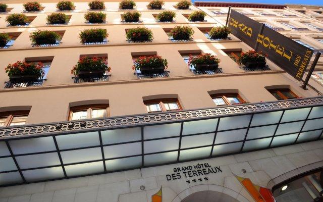 Отель Grand Hotel des Terreaux Франция, Лион - 2 отзыва об отеле, цены и фото номеров - забронировать отель Grand Hotel des Terreaux онлайн вид на фасад