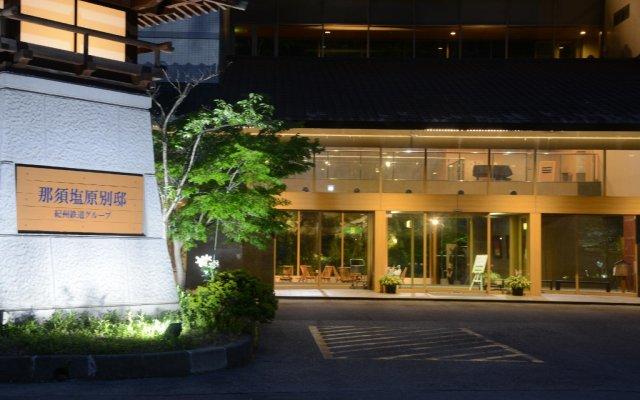 Отель Nasushiobara Bettei Насусиобара вид на фасад