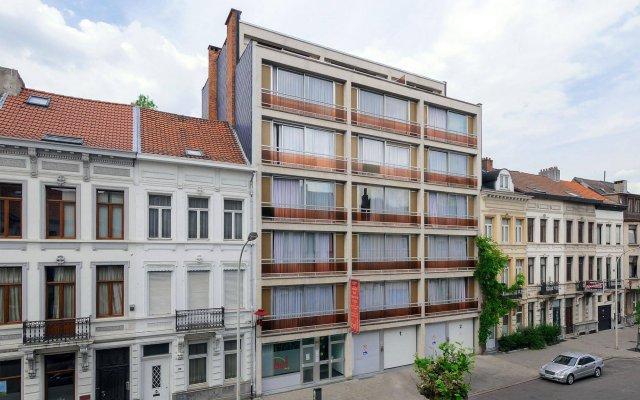 Апартаменты City Apartments Antwerp Антверпен вид на фасад