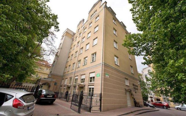 Отель Apartamenty Zacisze Гданьск вид на фасад