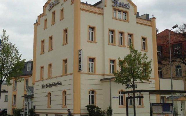 Hotel am Bayrischen Platz вид на фасад