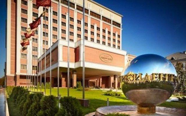 Президент-Отель Минск вид на фасад
