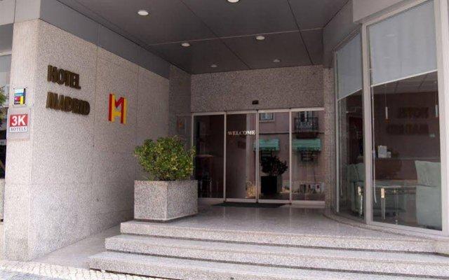 Hotel 3K Madrid вид на фасад
