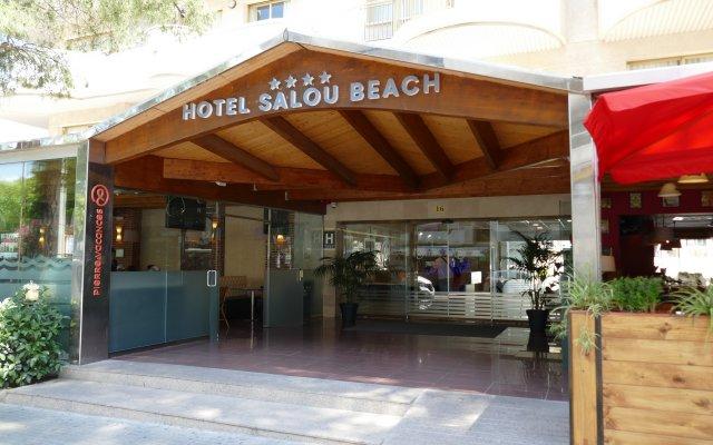 Отель Salou Beach by Pierre & Vacances Испания, Салоу - отзывы, цены и фото номеров - забронировать отель Salou Beach by Pierre & Vacances онлайн вид на фасад