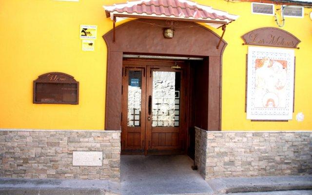 Отель Hostal Los Molinos вид на фасад
