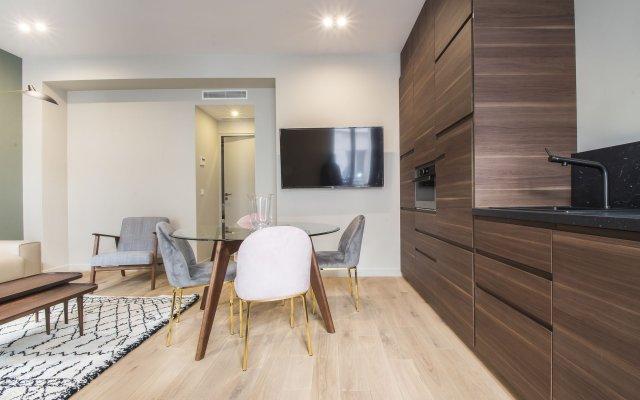 Апартаменты Luxury Apartment In Paris - République Париж комната для гостей