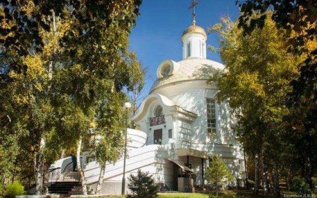 Фианит Отель Иркутск вид на фасад