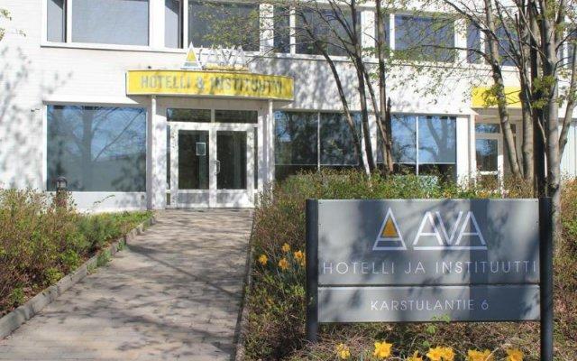 Отель Ava Финляндия, Хельсинки - отзывы, цены и фото номеров - забронировать отель Ava онлайн вид на фасад