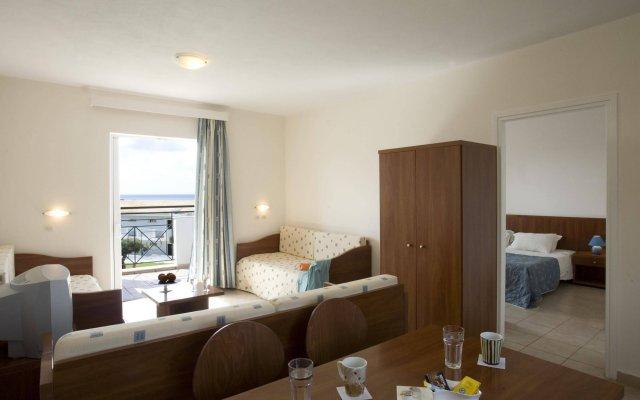 Отель Mareblue Beach Корфу комната для гостей