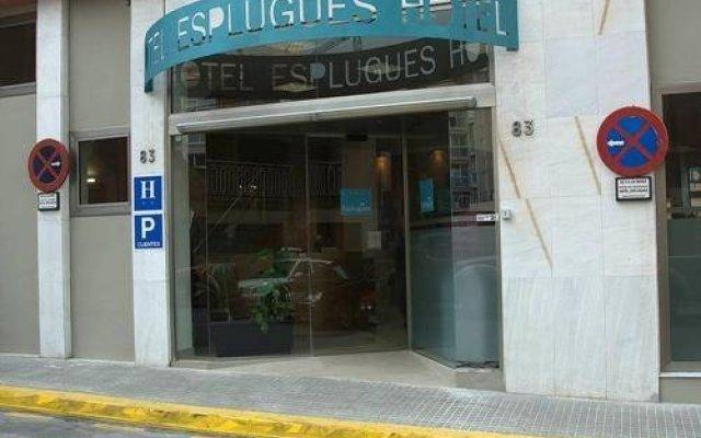 Отель Esplugues Испания, Эсплугес-де-Льобрегат - отзывы, цены и фото номеров - забронировать отель Esplugues онлайн вид на фасад