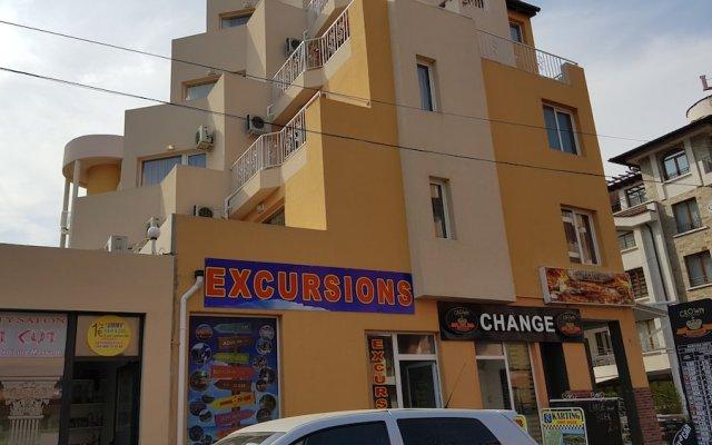 Отель Apart-Hotel Vanilla Garden Болгария, Солнечный берег - отзывы, цены и фото номеров - забронировать отель Apart-Hotel Vanilla Garden онлайн вид на фасад