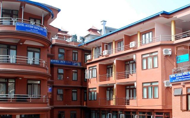Отель Access Nepal Непал, Катманду - отзывы, цены и фото номеров - забронировать отель Access Nepal онлайн вид на фасад