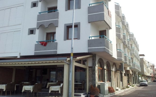 Samyeli Otel ve Restaurant Турция, Дикили - отзывы, цены и фото номеров - забронировать отель Samyeli Otel ve Restaurant онлайн вид на фасад