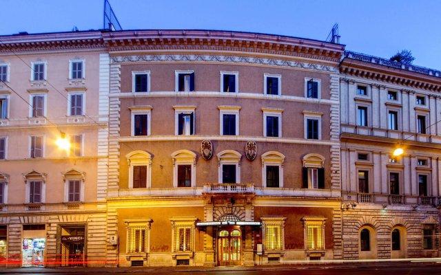 Tiziano Hotel Рим вид на фасад