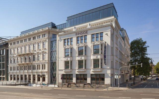 Отель INNSIDE by Meliá Leipzig вид на фасад