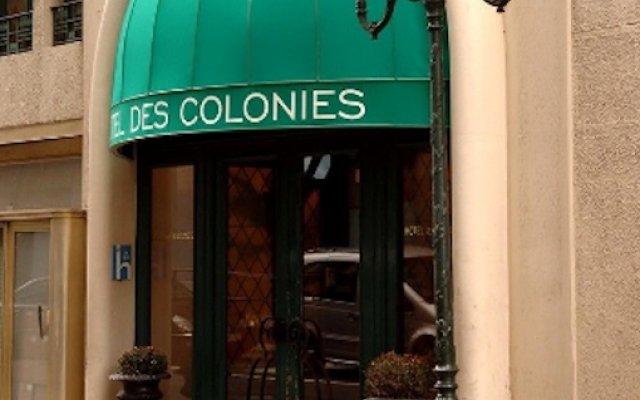 Hotel Des Colonies вид на фасад