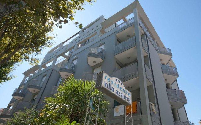 Отель Residence Villa Azzurra Италия, Римини - отзывы, цены и фото номеров - забронировать отель Residence Villa Azzurra онлайн вид на фасад