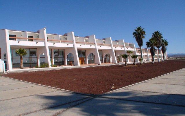 Hotel Mision Santa Maria вид на фасад