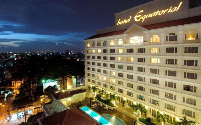 Отель Equatorial Ho Chi Minh City Вьетнам, Хошимин - отзывы, цены и фото номеров - забронировать отель Equatorial Ho Chi Minh City онлайн вид на фасад