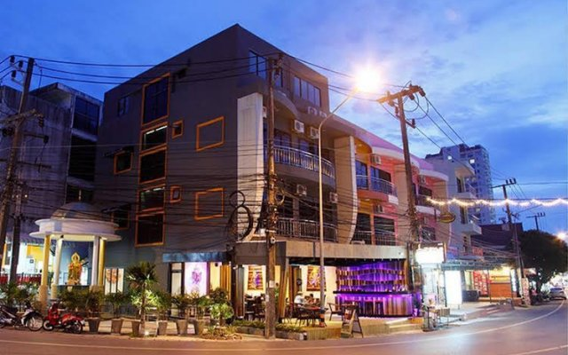 Отель Lana Beach Residence вид на фасад
