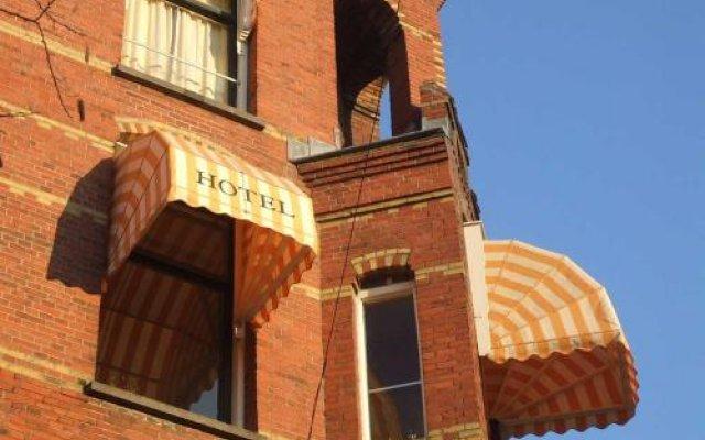Отель Museumzicht Нидерланды, Амстердам - 1 отзыв об отеле, цены и фото номеров - забронировать отель Museumzicht онлайн вид на фасад