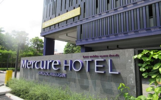 Отель Mercure Bangkok Makkasan вид на фасад