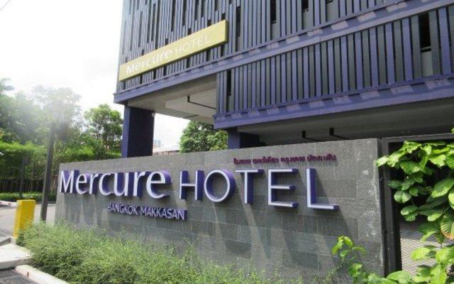 Отель Mercure Bangkok Makkasan Бангкок вид на фасад