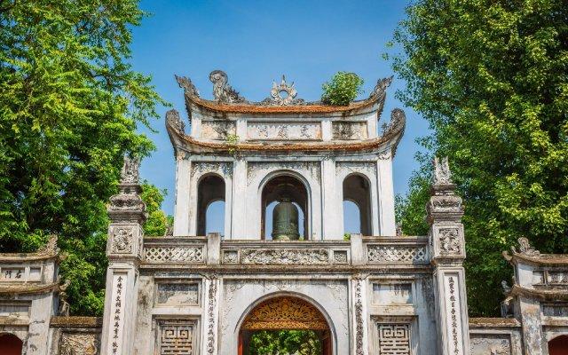 Отель Pan Hotel Hotel Вьетнам, Ханой - отзывы, цены и фото номеров - забронировать отель Pan Hotel Hotel онлайн вид на фасад