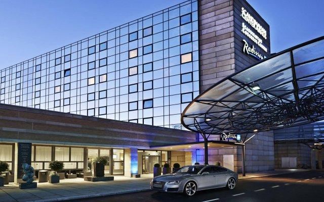 Отель Radisson Blu Scandinavia Hotel, Aarhus Дания, Орхус - отзывы, цены и фото номеров - забронировать отель Radisson Blu Scandinavia Hotel, Aarhus онлайн вид на фасад