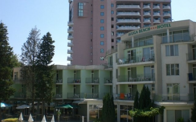 Отель Avliga Beach Солнечный берег вид на фасад