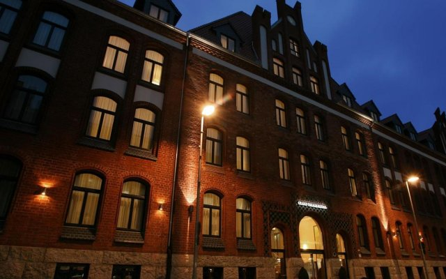 Grand Palace Hotel Hannover вид на фасад