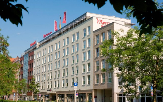 Mercure Hotel Hannover Mitte вид на фасад