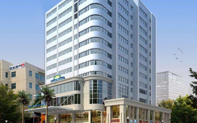 Отель Days Inn Hotspring Xiamen Сямынь вид на фасад