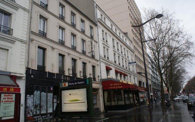 Hotel Agorno Cite De La Musique Париж вид на фасад