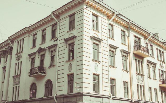 Гостиница Александр вид на фасад