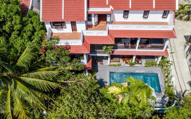 Отель An Bang Coco Villa вид на фасад
