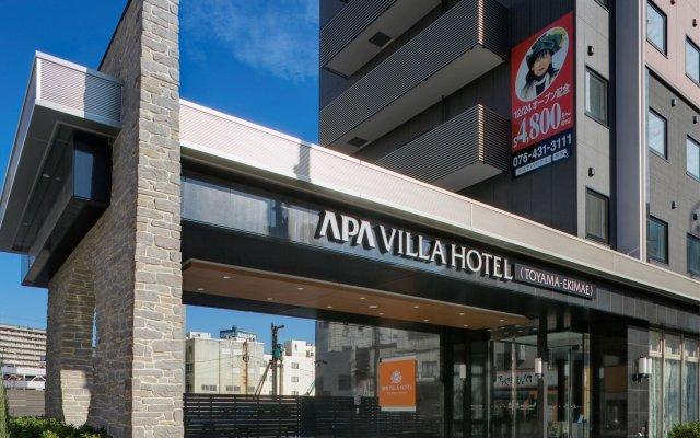 Отель Apa Villa Toyama - Ekimae Тояма вид на фасад