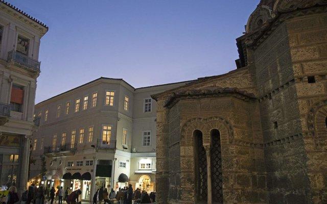 Отель Four Streets Athens Афины вид на фасад
