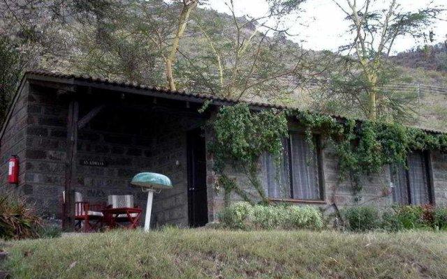 Отель Sarova Lion Hill Game Lodge вид на фасад
