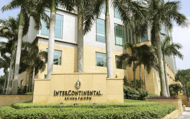 Отель InterContinental Residences Saigon вид на фасад