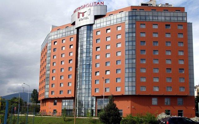 Metropolitan Hotel Sofia вид на фасад