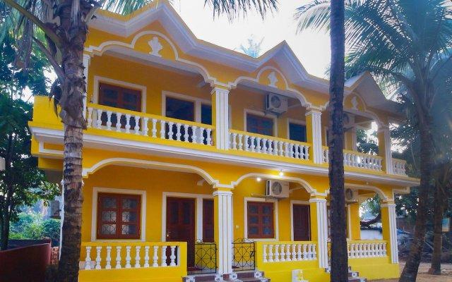 Отель OYO 23545 Home Design Studios Nagao Индия, Северный Гоа - отзывы, цены и фото номеров - забронировать отель OYO 23545 Home Design Studios Nagao онлайн вид на фасад
