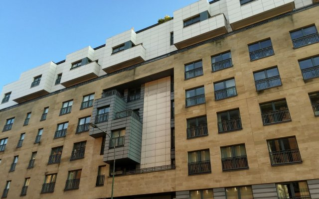 Апартаменты Tolbooth Apartments вид на фасад