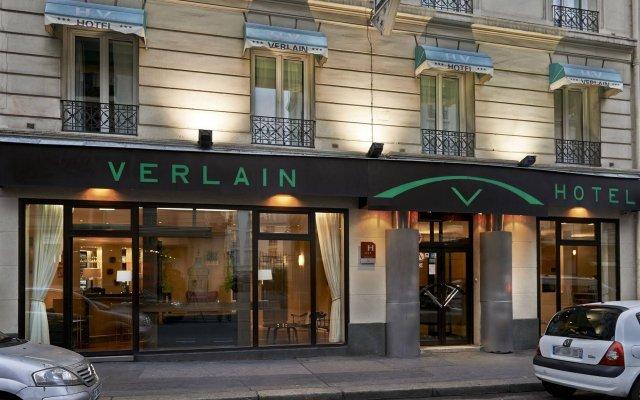 Отель VERLAIN Париж вид на фасад