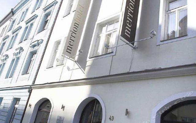 Отель Design Merrion Прага вид на фасад