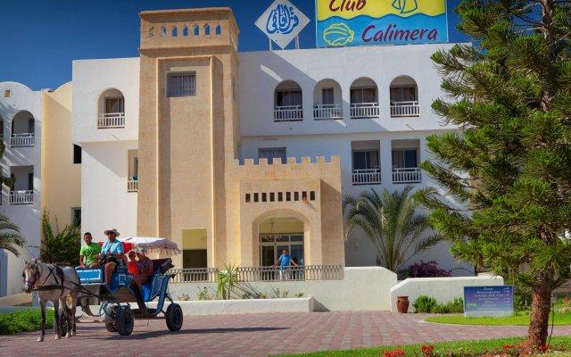 Отель Calimera Yati Beach All Inclusive Тунис, Мидун - отзывы, цены и фото номеров - забронировать отель Calimera Yati Beach All Inclusive онлайн вид на фасад