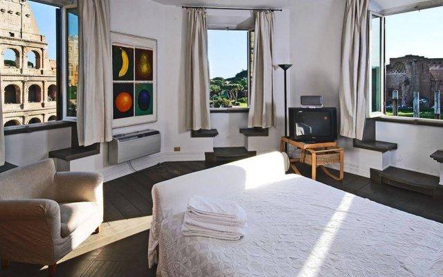 Апартаменты Short Stay Rome Apartments Colosseum Рим комната для гостей